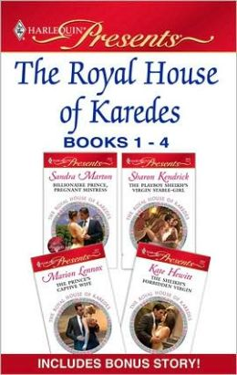 The Royal House of Karedes Books 1-4