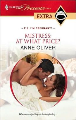 Mistress: At What Price? (Harlequin Presents Extra #112)