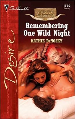 Remembering One Wild Night (Silhouette Desire #1559)