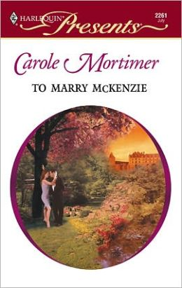 To Marry McKenzie (Bachelor Cousins Series)