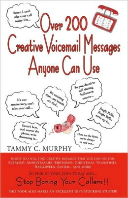 Creative voicemail ideas tetedcesad49s soup creative voicemail ideas m4hsunfo Image collections