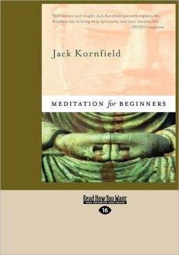 Meditation For Beginners (Easyread Large Edition)