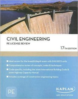 Civil Engineering PE License Review