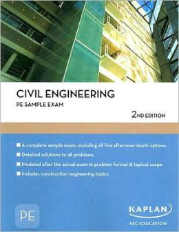 Civil Engineering PE Sample Exam