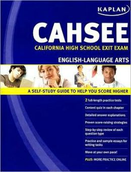 Kaplan CAHSEE English-Language Arts: California High School Exit Exam