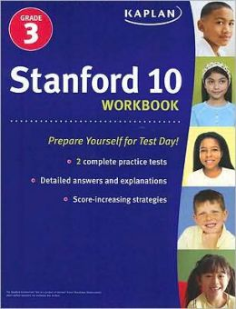 Stanford 10 Workbook: Grade 3