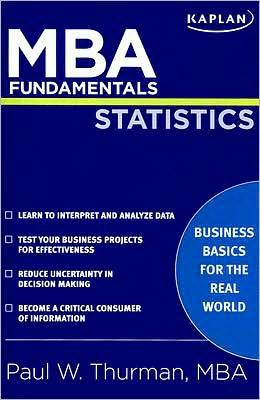 MBA Fundamentals Statistics
