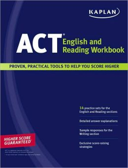 Kaplan ACT English and Reading Workbook