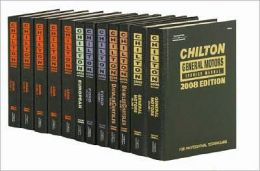 Chilton General Motors Service Manual, 2008 Edition Volume 1 & 2 Set