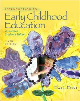 introduction to early childhood education An introduction sheila nutkins early childhood studies and early years education and introduces a number of concepts of early childhood education and care.