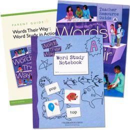 Words Their Way: Word Study In Action Home School Bundle Grade 1 2005C