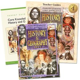 Core Knowledge History and Geography - 4th Grade Homeschool Bundle