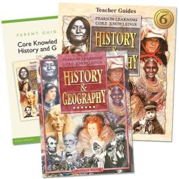 Core Knowledge History and Geography - 6th Grade Homeschool Bundle