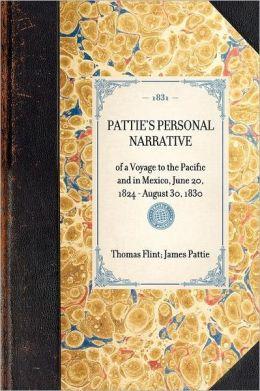 Pattie's Personal Narrative