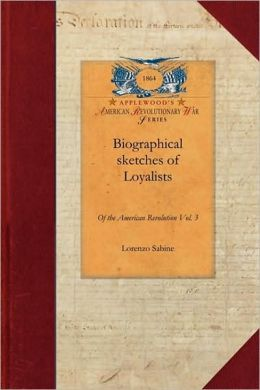 Biographical Sketches V3: With an Historical Essay Vol. 3