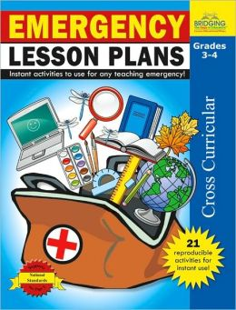 Emergency Lesson Plans - Grades 3-4