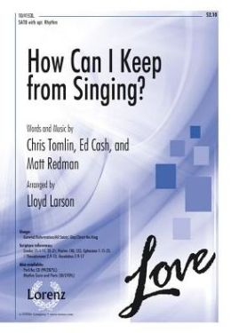 How Can I Keep from Singing?: SATB with Opt. Rhythm