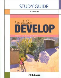 Study Guide for How Children Develop
