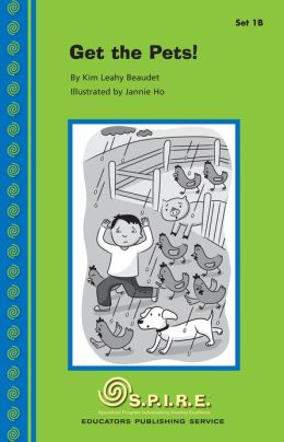 SPIRE Decodable Readers, Set 1B: Get the Pets!