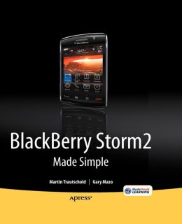 BlackBerry Storm 2 Made Simple