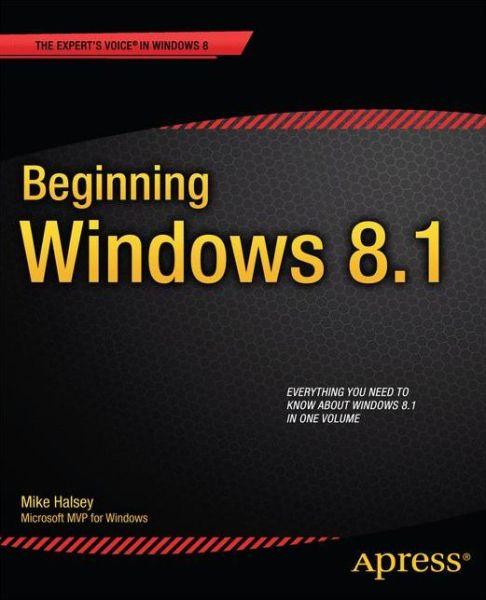 Beginning Windows 8.1
