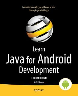 Learn Java for Android Development