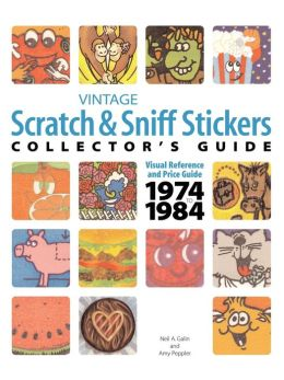 Vintage Scratch Sniff Sticker Collector