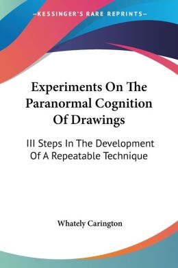 Experiments on the Paranormal Cognition of Drawings: III Steps in the Development of A Repeatable Technique