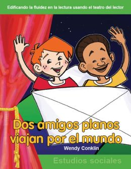 Dos amigos planos viajan por el mundo (Two Flat Friends Travel the World)