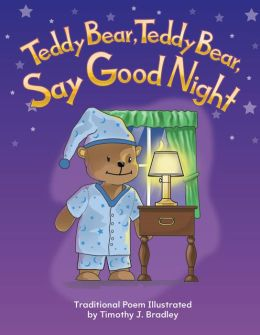 Teddy Bear, Teddy Bear, Say Good Night Lap Book