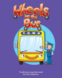 Wheels on the Bus Lap Book