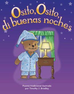 Osito, Osito di buenas noches (Teddy Bear, Teddy Bear, Say Good Night)