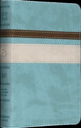 Esv Deluxe Compact Bible Trutone Seabreeze Horizon Design