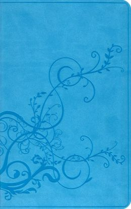 ESV Bible Thinline Trutone Skyblue Ive Design