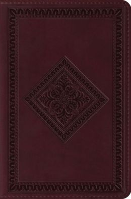 Deluxe Compact Bible-ESV-Diamond Design