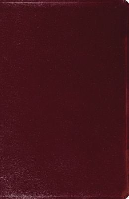 New Classic Reference Bible (Burgundy)