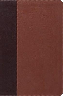 ESV Single Column Legacy Bible ((Pocket Cover), TruTone, Brown/Cordovan, Portfolio Design)