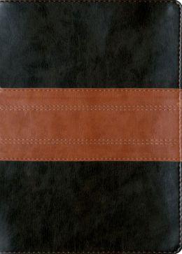 ESV MacArthur Study Bible (Bonded Leather, Black/Tan, Trail Design)