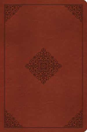 ESV Compact Outreach Bible, Premium Edition (TruTone, Saddle, Ornament Design)