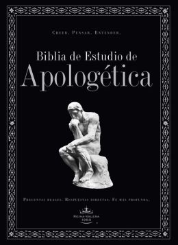 Biblia de Estudio de Apologetica (Hardcover, Indexed)
