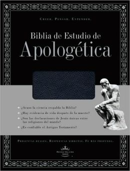Biblia de Estudio de Apologetica (Black Simulated Leather, Indexed)
