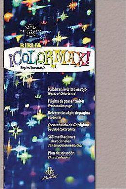 RVR 1960 Biblia ColorMax!, platino efervescente vinilo