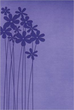RVR 1960 Biblia Tamano Personal, lilas en flor simil piel