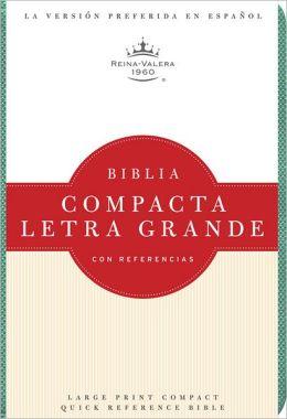 RVR 1960 Biblia Compacta Letra Grande, turquesa imitacion piel