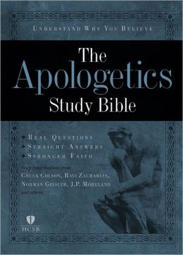 Apologetics Study Bible, Hardcover