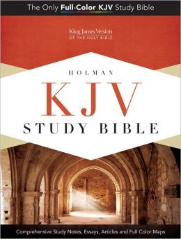 KJV Study Bible, Mantova Black LeatherTouch Indexed