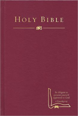 HCSB Drill Bible, Burgundy Hardcover