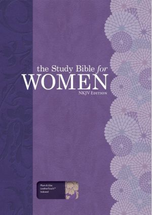 The Study Bible for Women, NKJV Personal Size Edition Plum/Lilac LeatherTouch Indexed