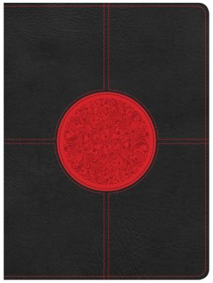 Apologetics Study Bible for Students, Black/Red LeatherTouch