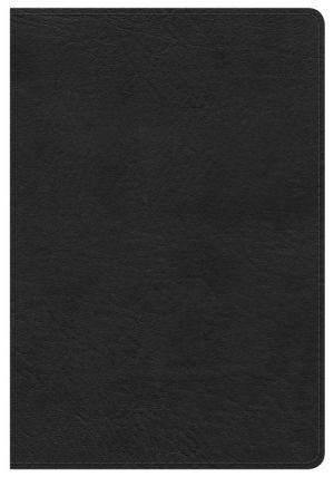 NKJV Compact Ultrathin Bible, Black LeatherTouch